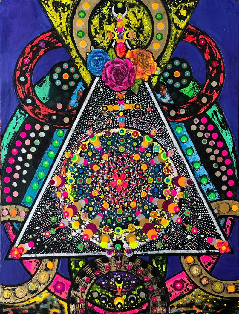 The Blooming Altar of the Unknown God by Maher Diab