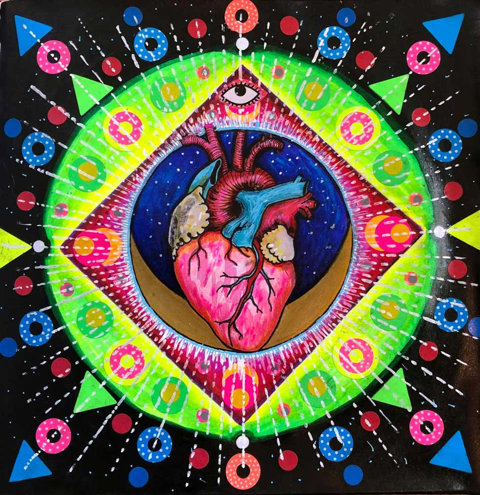 The heart that sees by Maher Diab